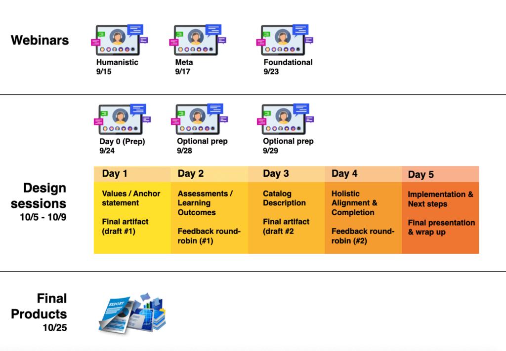 STEM Futures calendar graphic